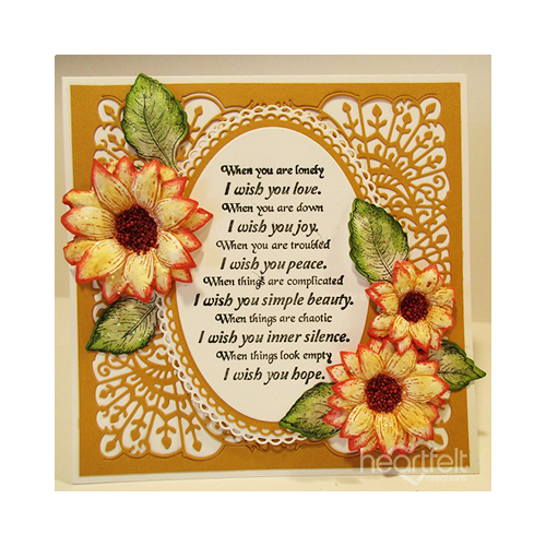Orange Tipped Sunflowers