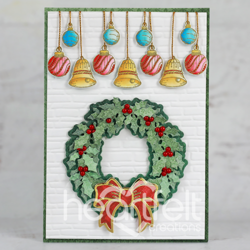 Ornaments and Wreath