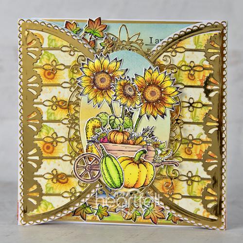 Ornate Autumn Shutterfold