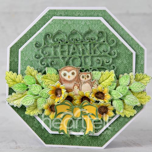Owl Family Thanks