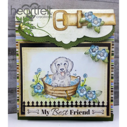 Pampered Pooch Flipfold Card