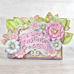 Pastel Birthday Zinnia