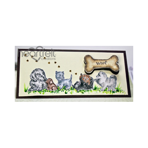 Paw-fect Pooches Card