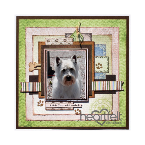 Paw Print Pooch Layout