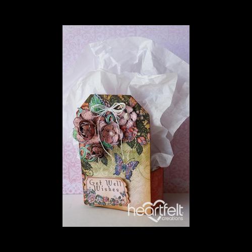 Peach Rose Gift Box
