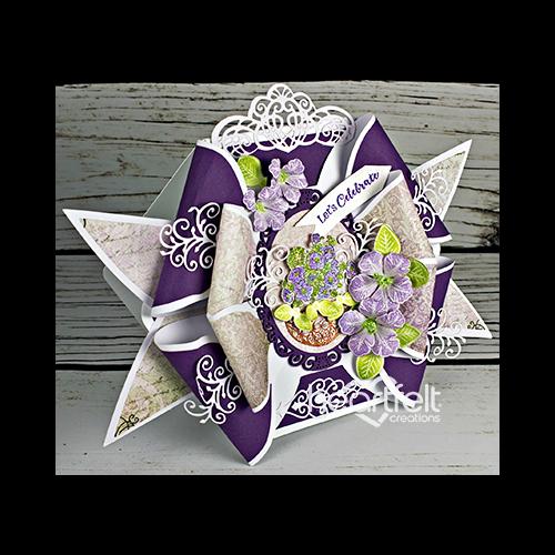 Petunia Bow Card