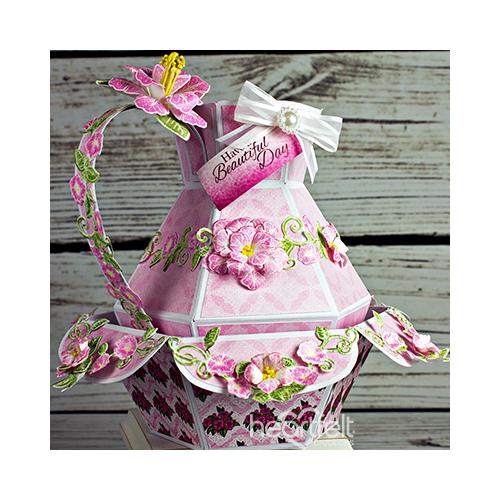 Petunia Bowl and Vase
