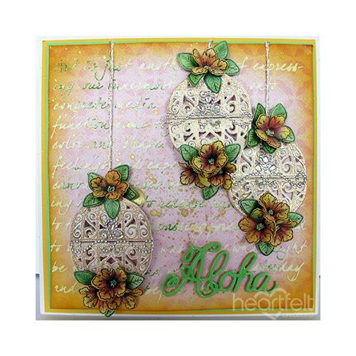 Petunia Lantern Card