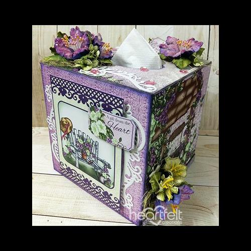 Petunia Tissue Box