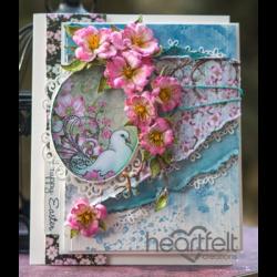 Pink Dogwood Easter Card