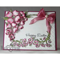 Pink Dogwood Frame Card