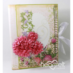 Pink Enchanted Mums Flip Fold Album