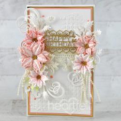 Pink Birthday Poinsettia
