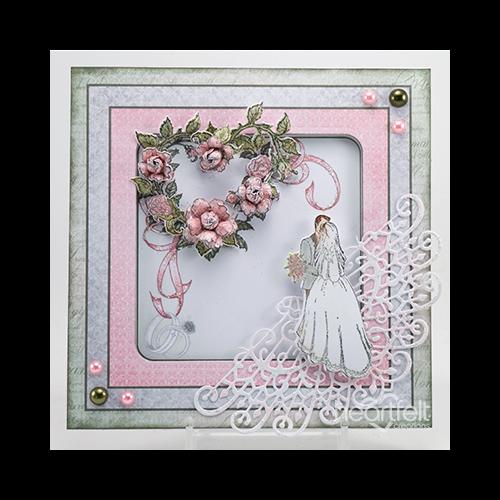 Pink And Sage Wedding Florals