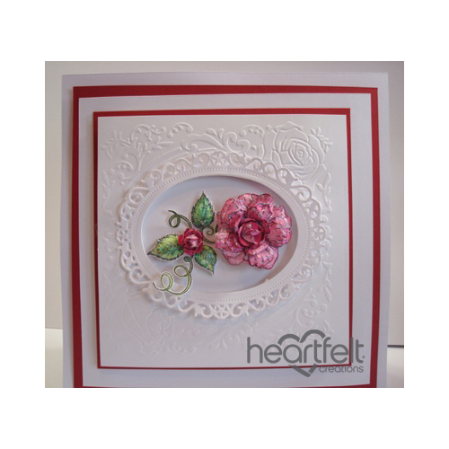 Pink Classic Rose Frame