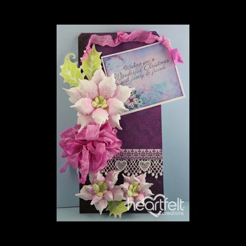 Pink Poinsettia Tag