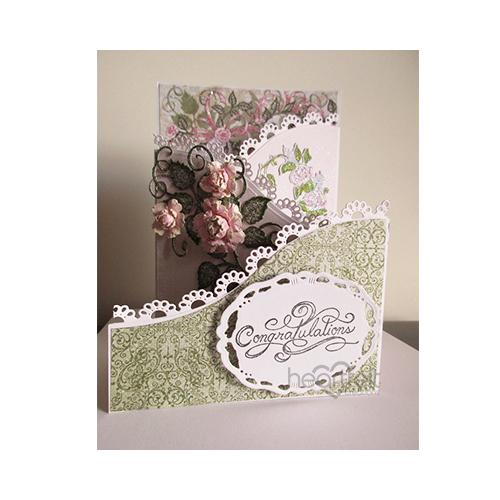 Pink Rosette Wedding