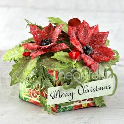 Poinsettia Gift Box