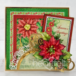 Poinsettia Season's Greetings