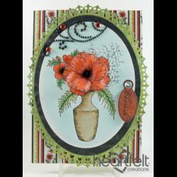 Poppy Vase Bouquet