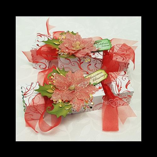 Poinsettia Gift Boxes