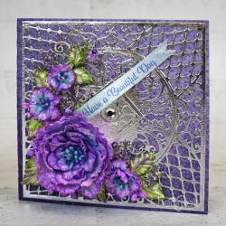 Pretty Purple Kaleidoscope