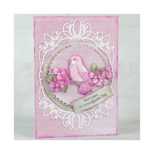 Pretty Pink Songbird