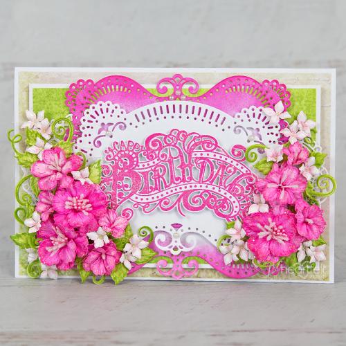 Pretty Pink Elaborate Birthday