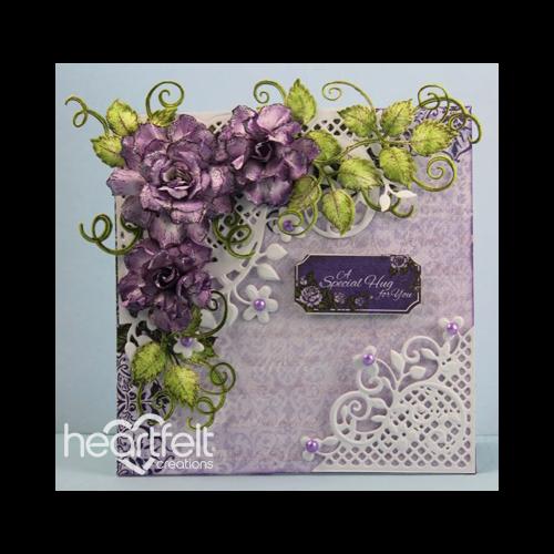 Purple Rose Hugs