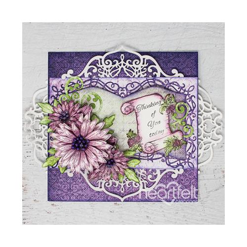 Purple Swirly Booklet