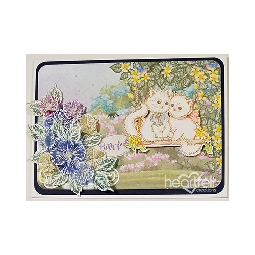Purr-fect Blossoms