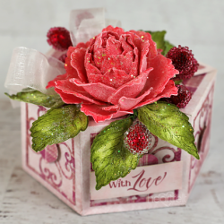 Raspberry Rose Gift Box