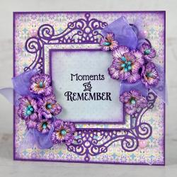 Regal Purple Blossoms