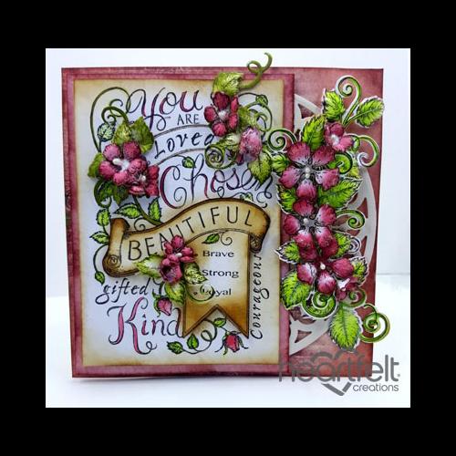 Regal Pink Rose Background