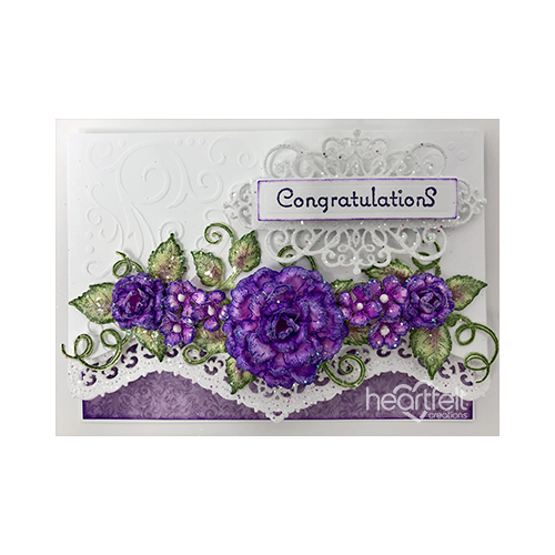 Regal Purple Roses