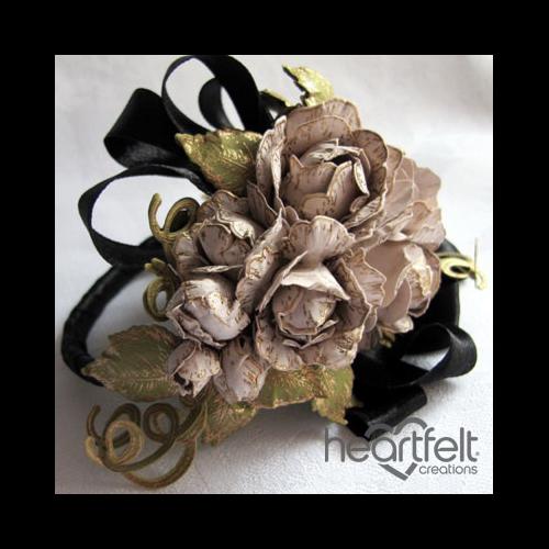 Rose Corsage Bracelet