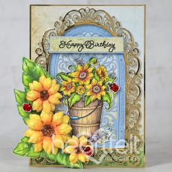 Rustic Sunflower Birthday