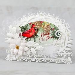 Snowy Christmas Cardinal