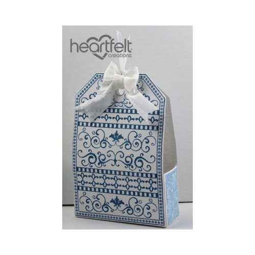 Snow Kissed Tag Treat Box