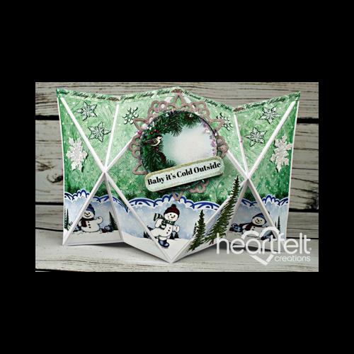 Snowflake Diamond Popout Card