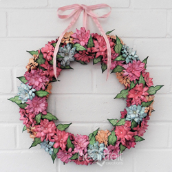 Splendid Floral Wreath