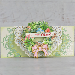 Spring Slimline Wreath