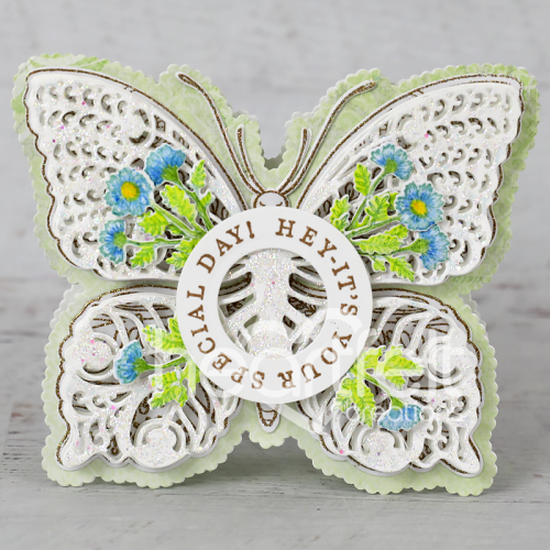 Special Day Floral Butterfly