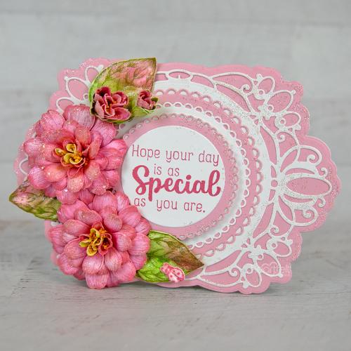 Special Pink Zinnia