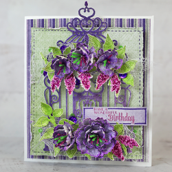 Stitched Birthday Floral