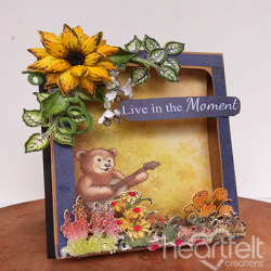 Sunflower Fun Shadow Box