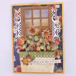Sunflower Window Box
