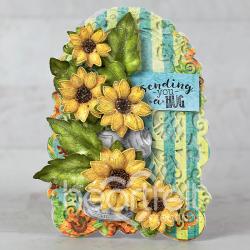 Sunflower Hug