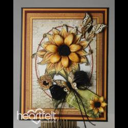 Sunflowers Flip Fold Card