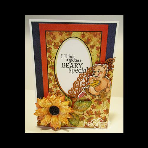 Sunflower Fleur Border